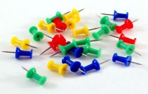Board Pins (a) - Image Credit Free Range Stock - fcad01