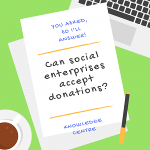 Image - Can social enterprises accept donations?