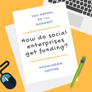Image -How do social enterprises get funding?