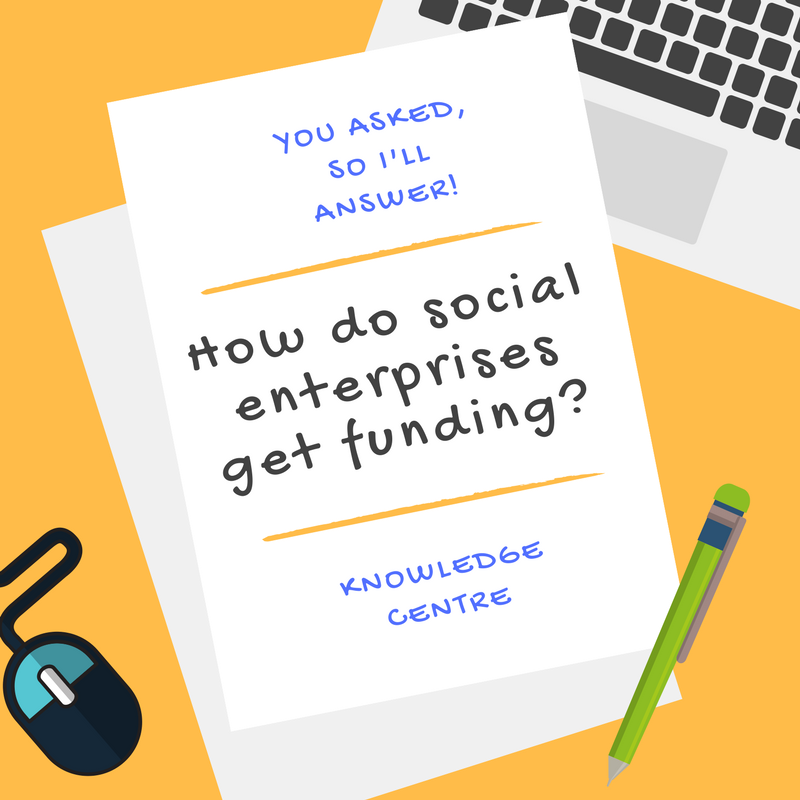 Image - How do social enterprises get funding?