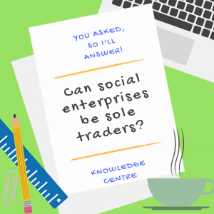 Image - Can social enterprises be sole traders?
