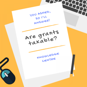Image - Are grants taxable? Am I trading?