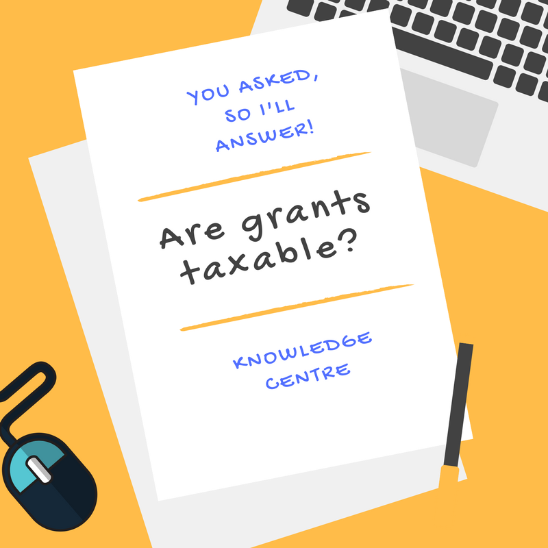 Image - Are Grants Taxable