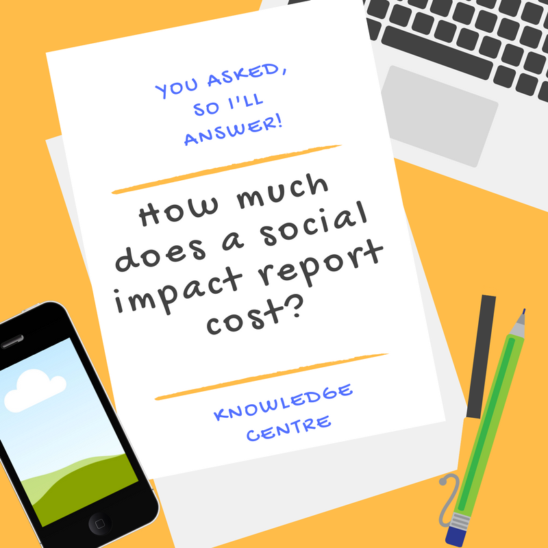 Image - How much does a social impact report cost?