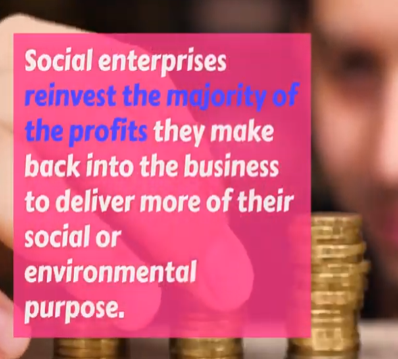 Video - What is a social enterprise