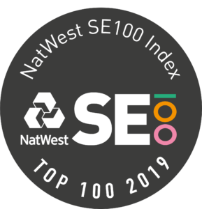 SE100 Badge top100