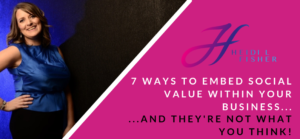7 ways to embed social value