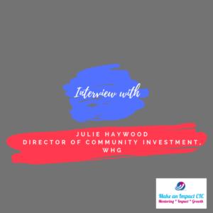 Video - Julie Haywood - interview