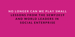 Lessons from the SEWF2019