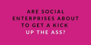 kick up the ass