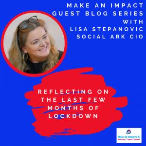 MAI Guest blog - Lisa Stephanovic