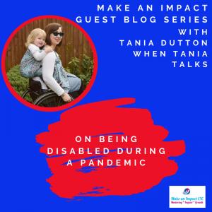 MAI Guest blog - Tania Dutton