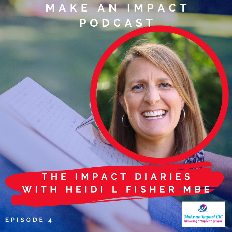 Podcast - Heidi Fisher - Impact Diaries interview