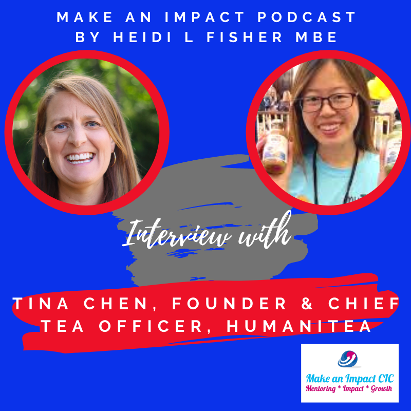 Interview podcast - Tina Chen