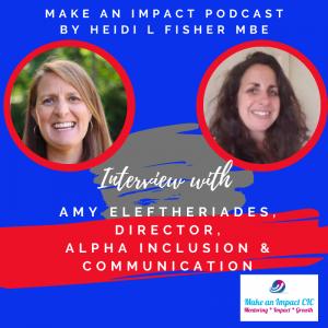 Interview podcast - Amy Eleftheriades