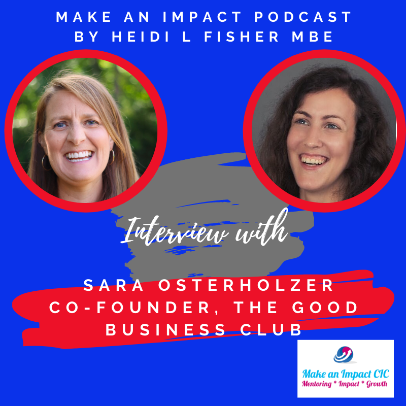 Interview podcast - Sara Osterholzer