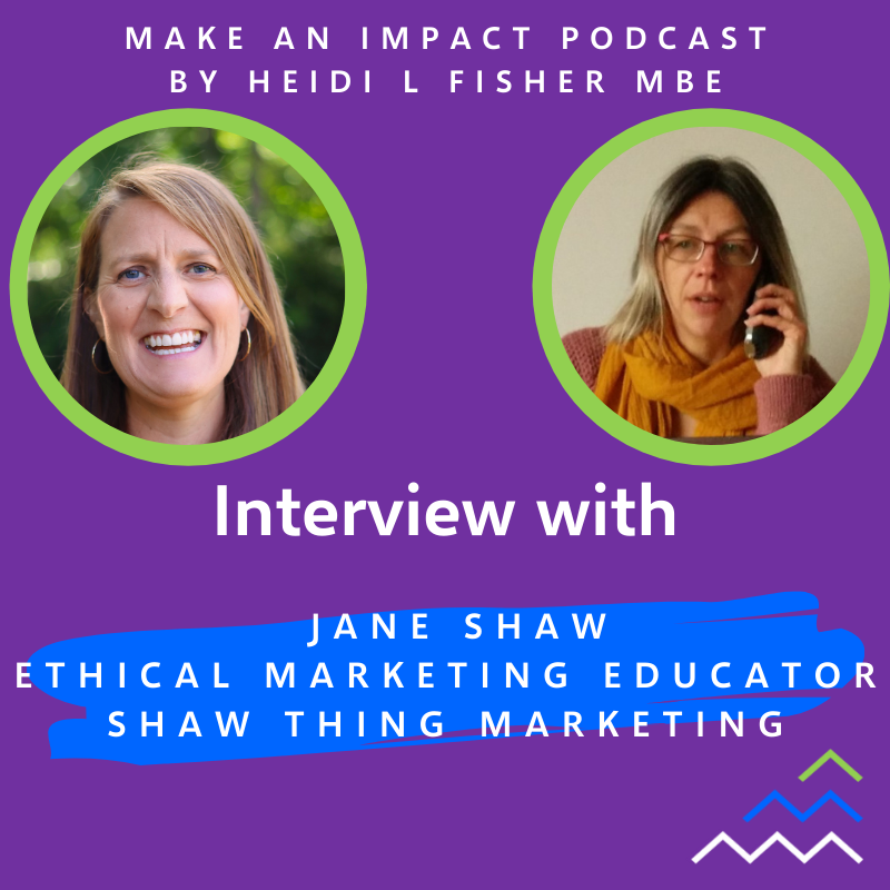 Interview podcast - Jane Shaw