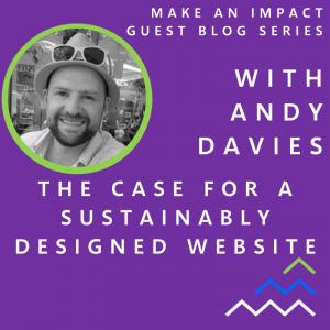MAI Guest blog - Andy Davies