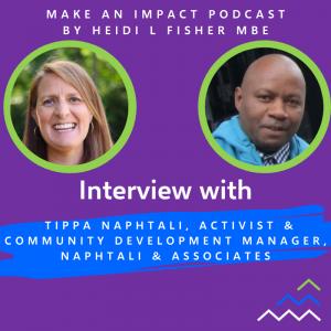 Interview podcast - Tippa Naphtali